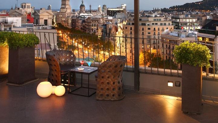 L mparas para la terraza for Iluminacion de exteriores