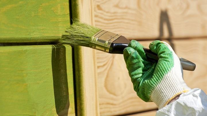 mueble de madera pintar