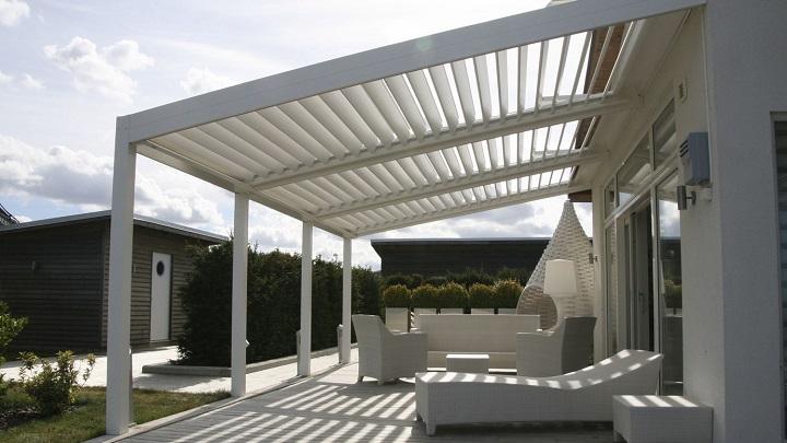 Tipos de p rgolas para el jard n y la terraza - Terrazas con pergolas ...
