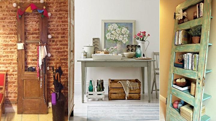 Ideas para decorar el recibidor con reciclaje - Como decorar un recibidor moderno ...