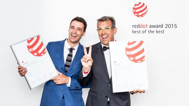 reddot award 2015 Calma