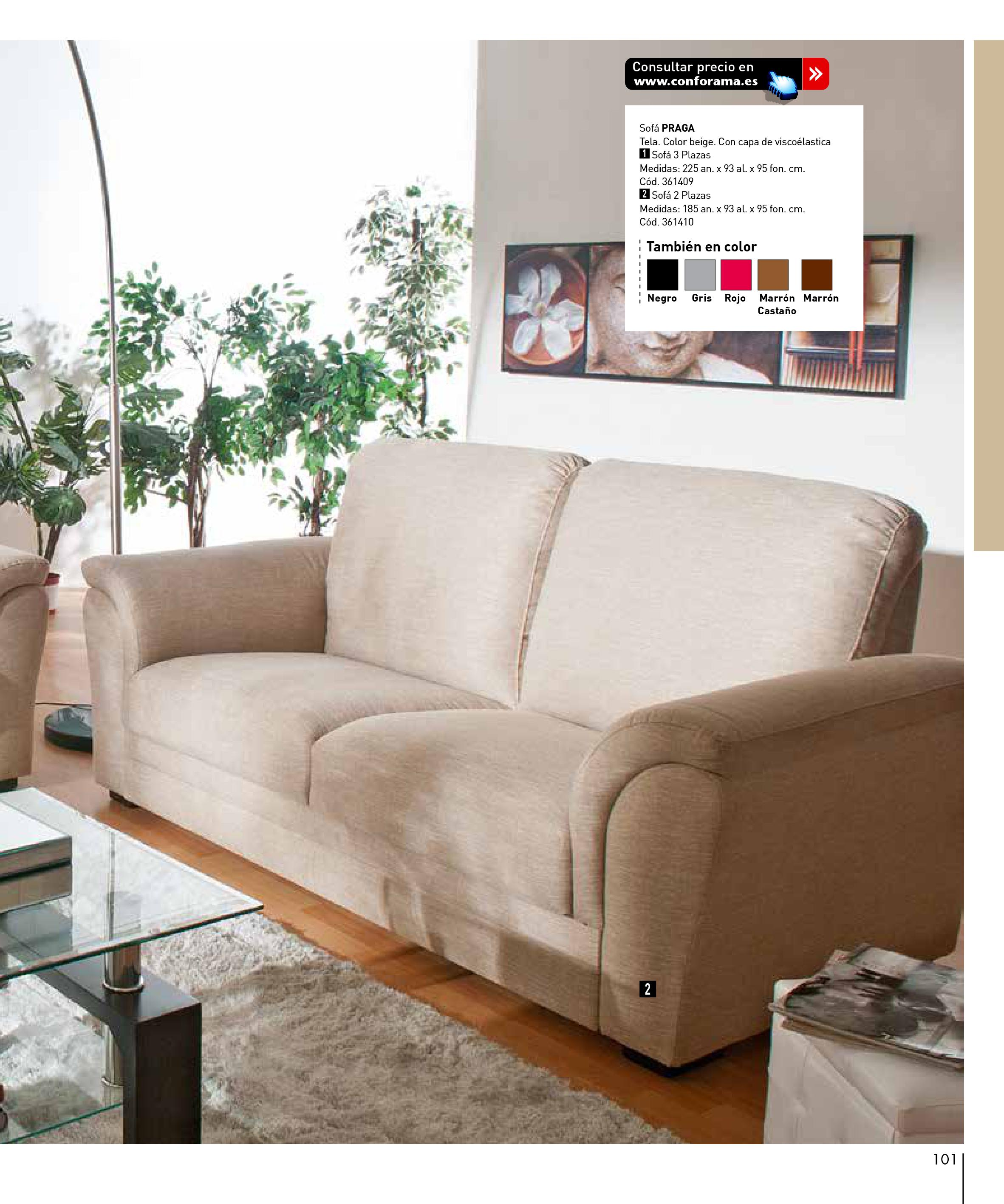 Sofas conforama 2015101 for Sofas conforama catalogo