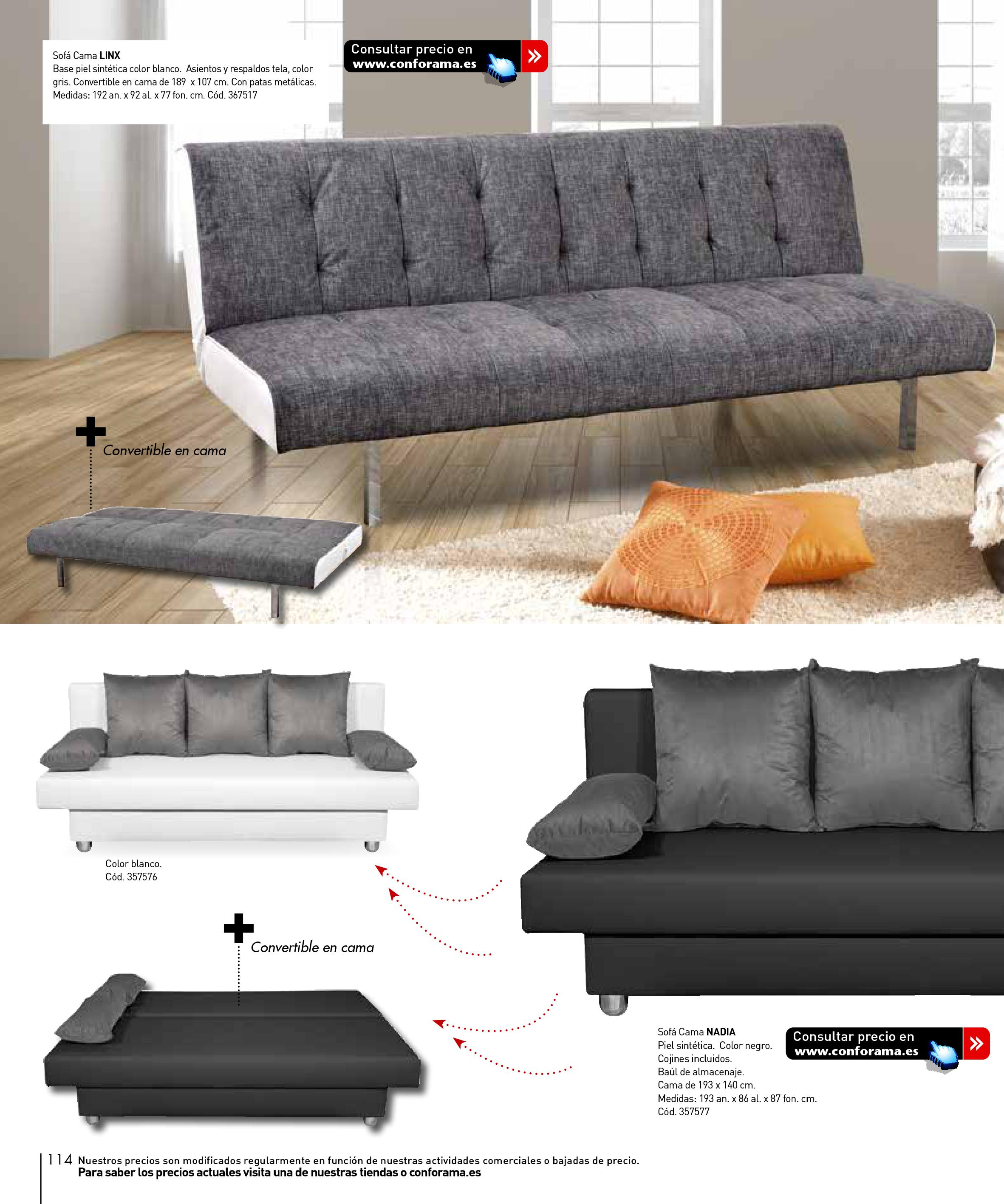 Sofas conforama 2015114 for Sofas conforama catalogo