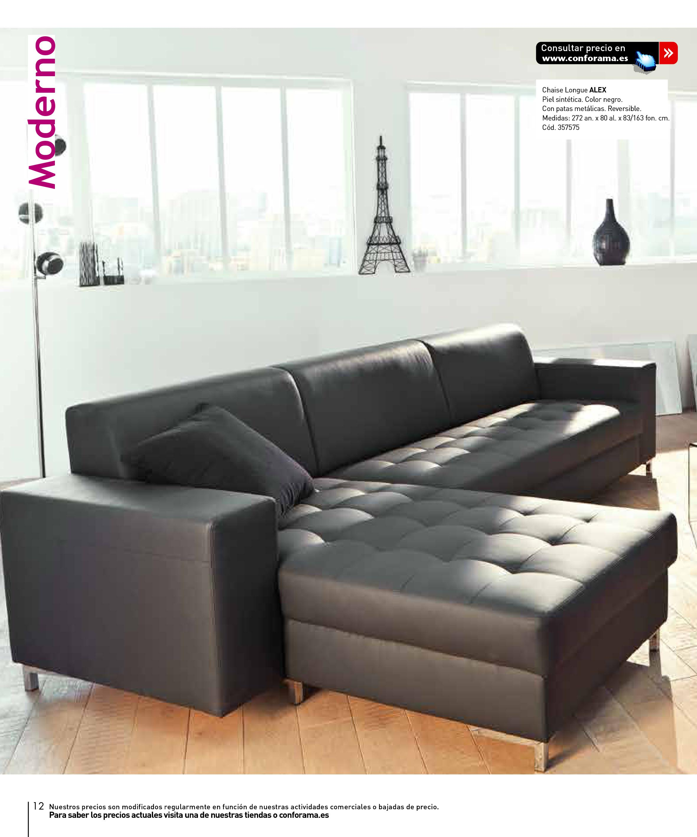 Sofas conforama 201512 for Sofas conforama catalogo