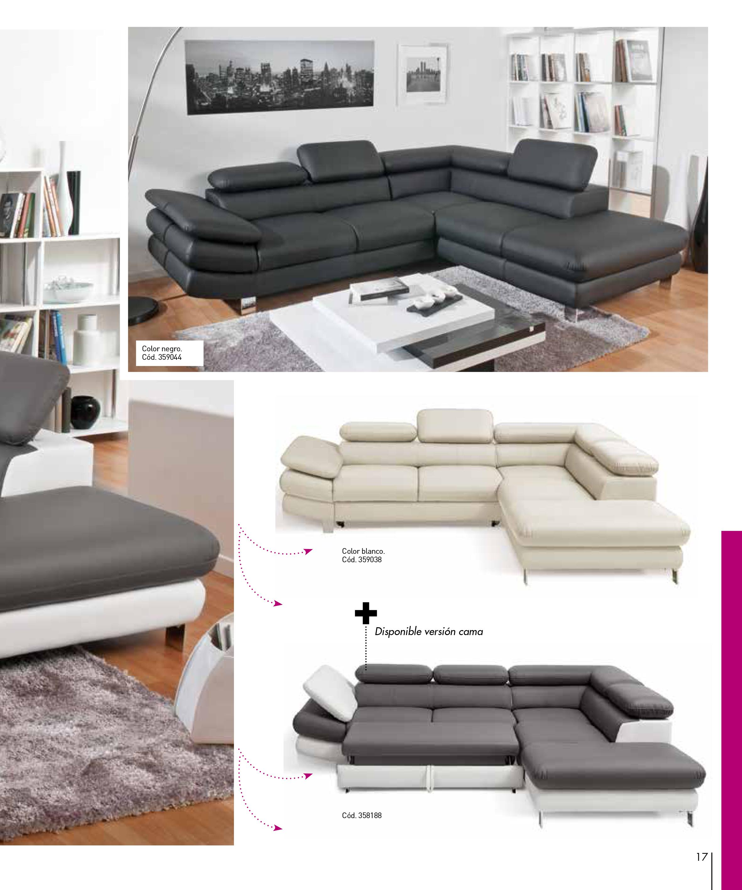Sofas conforama 201517 for Sofas conforama catalogo
