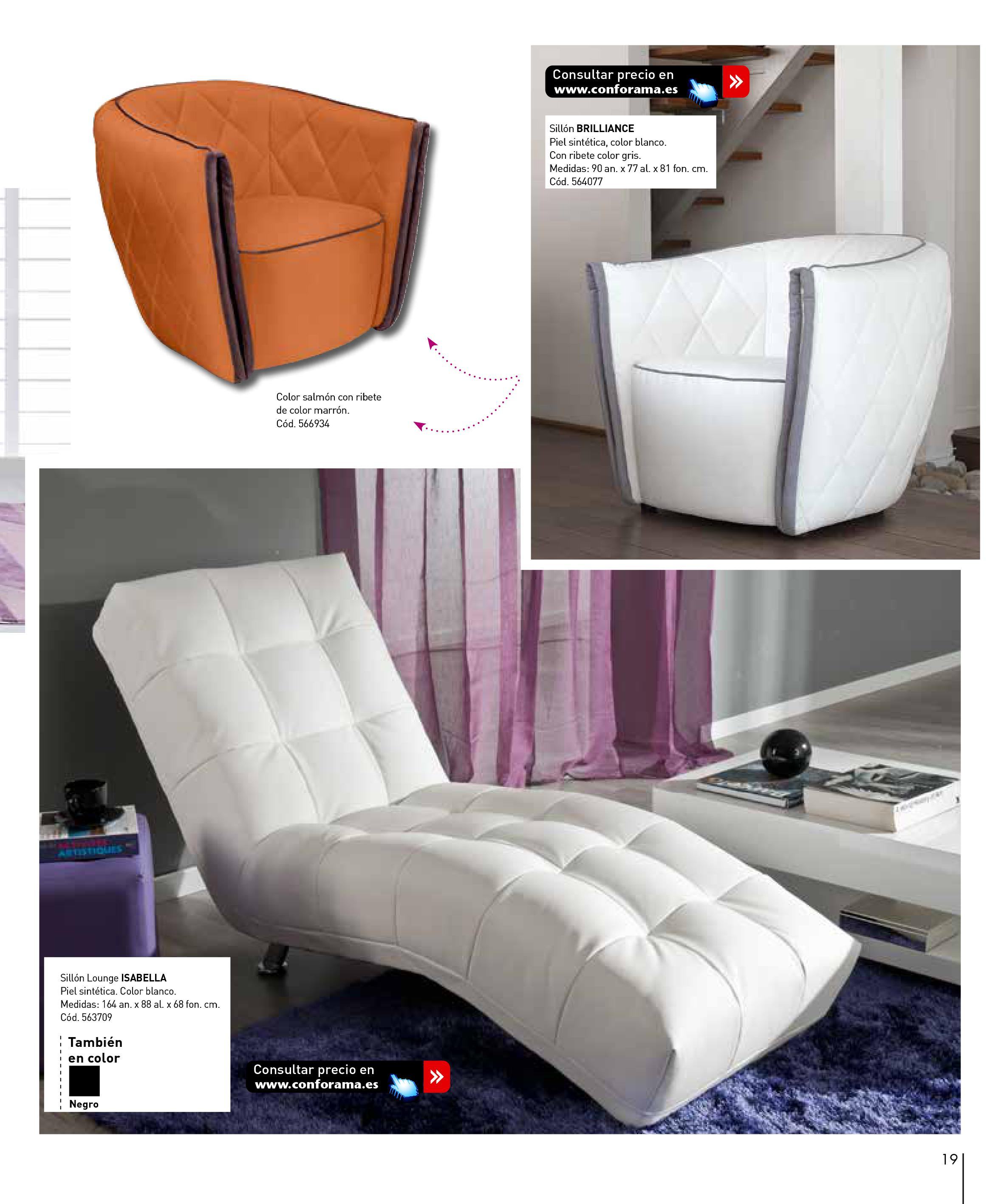 Sofas conforama 201519 for Sofas conforama catalogo