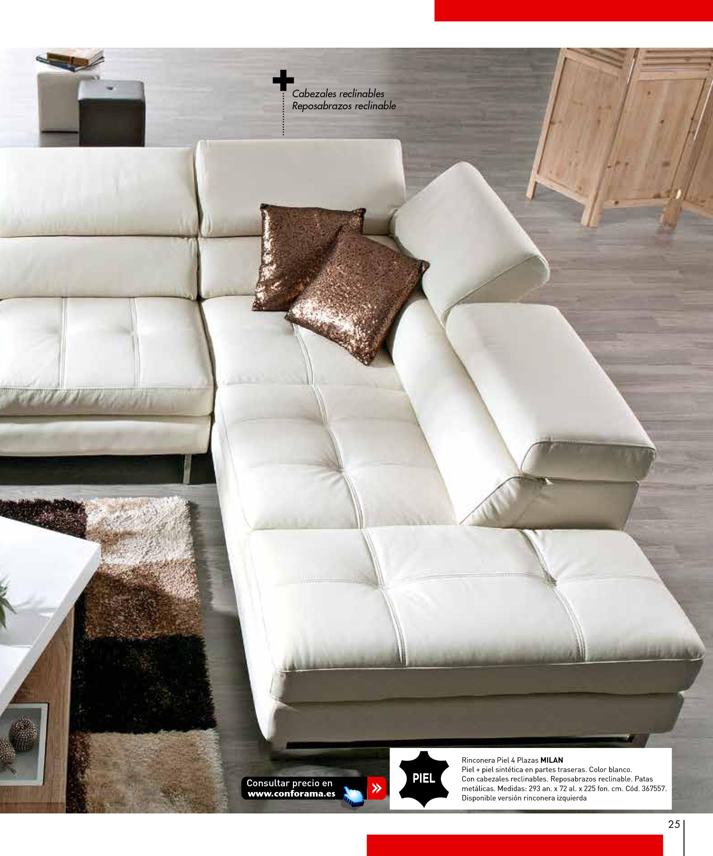 Sofas conforama 201525 for Sofas conforama catalogo