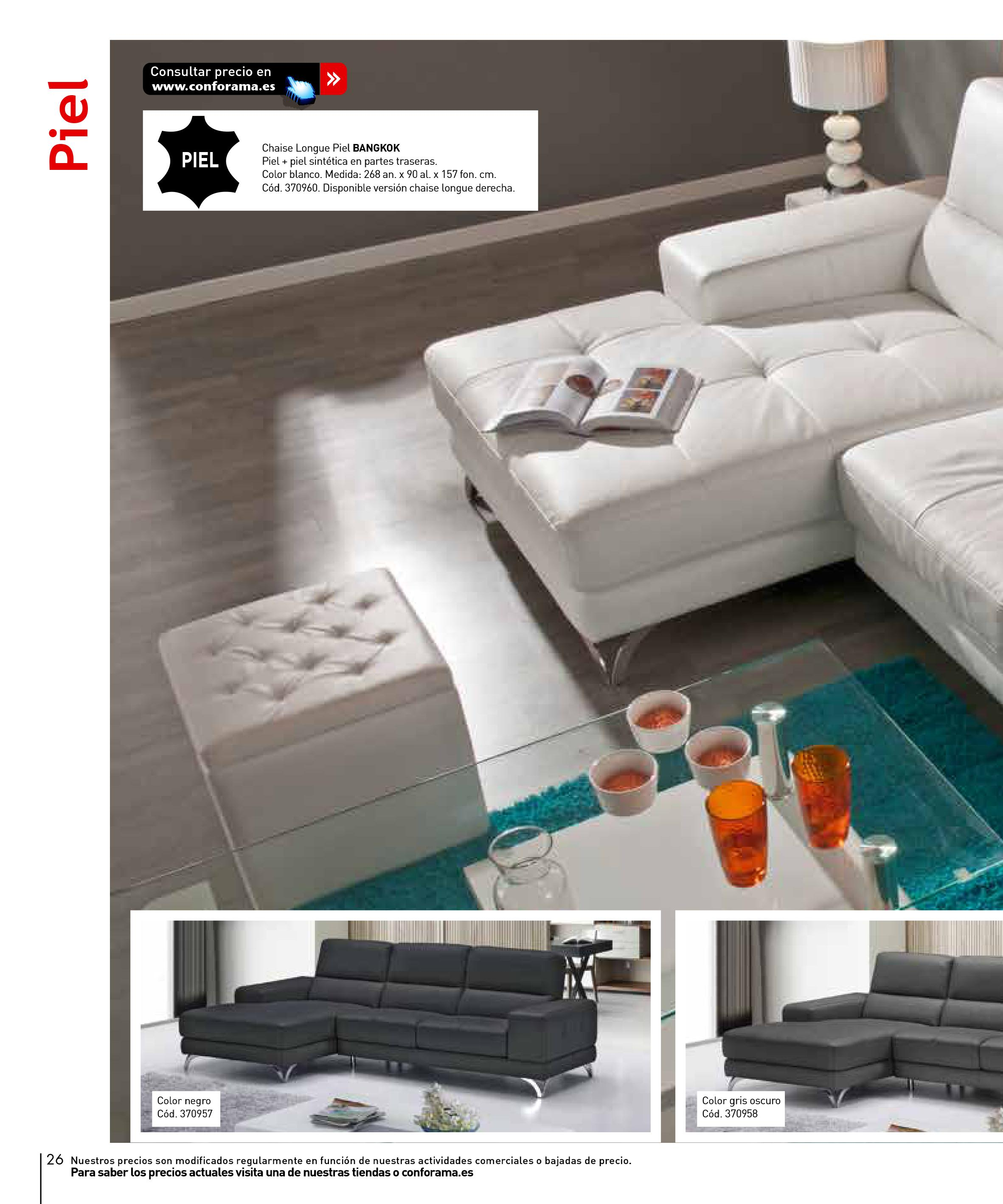 Sofas conforama 201526 for Sofas conforama catalogo