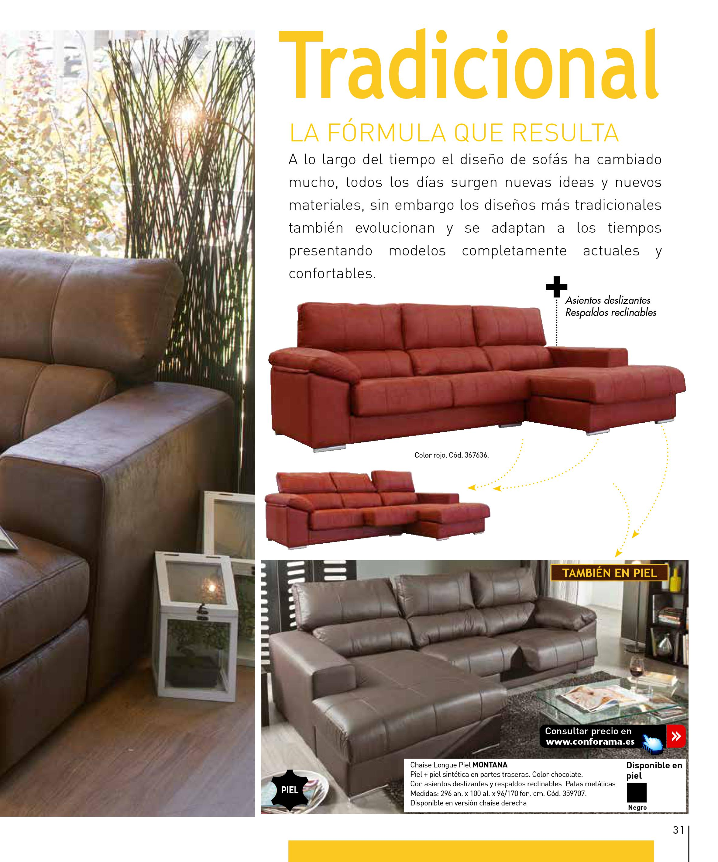 Sofas conforama 201531 for Sofas conforama catalogo