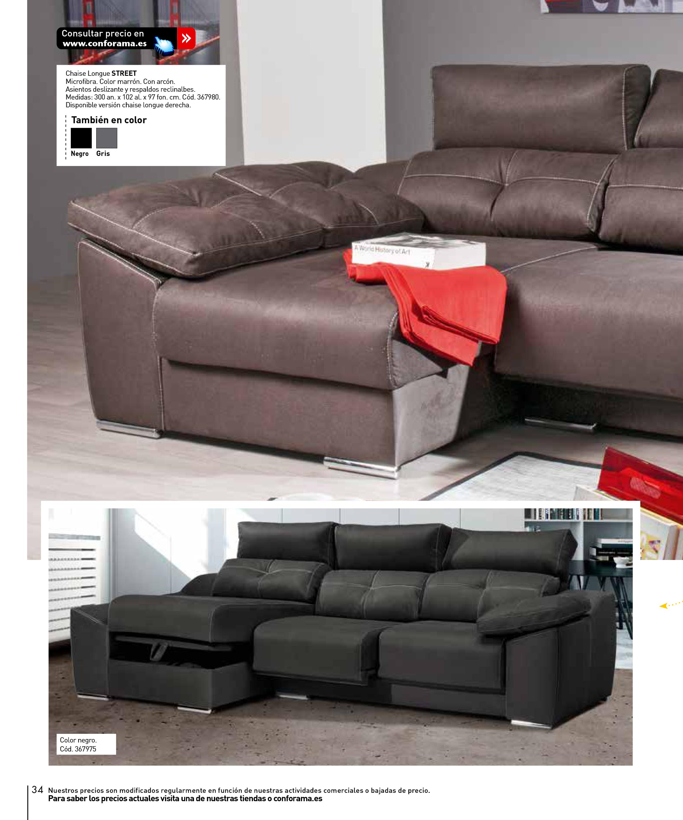 Decorablog revista de decoraci n for Sofas conforama catalogo