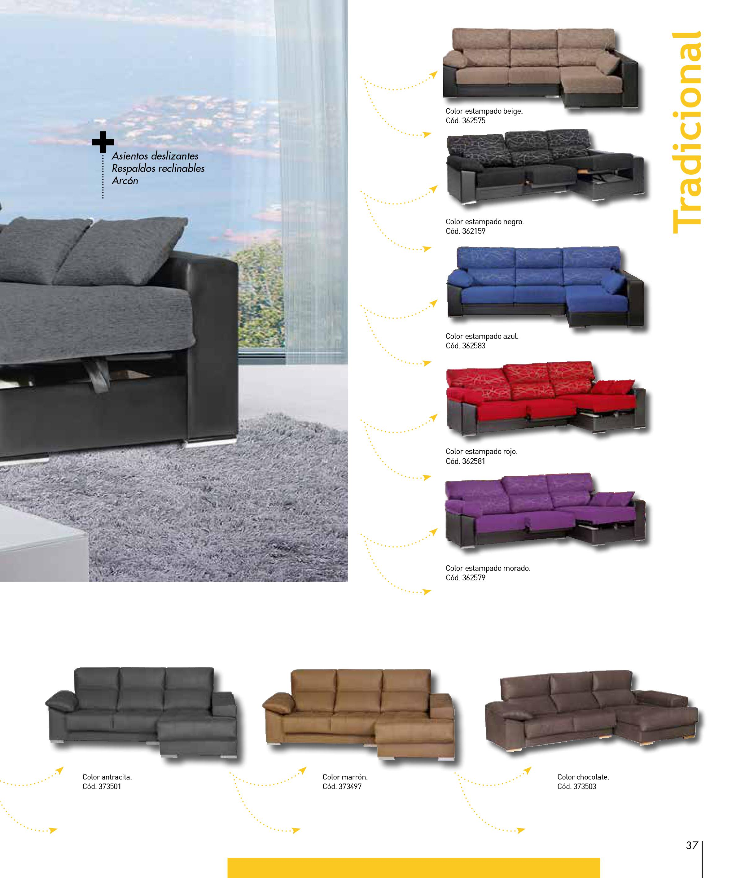 Sofas conforama 201537 for Sofas conforama catalogo