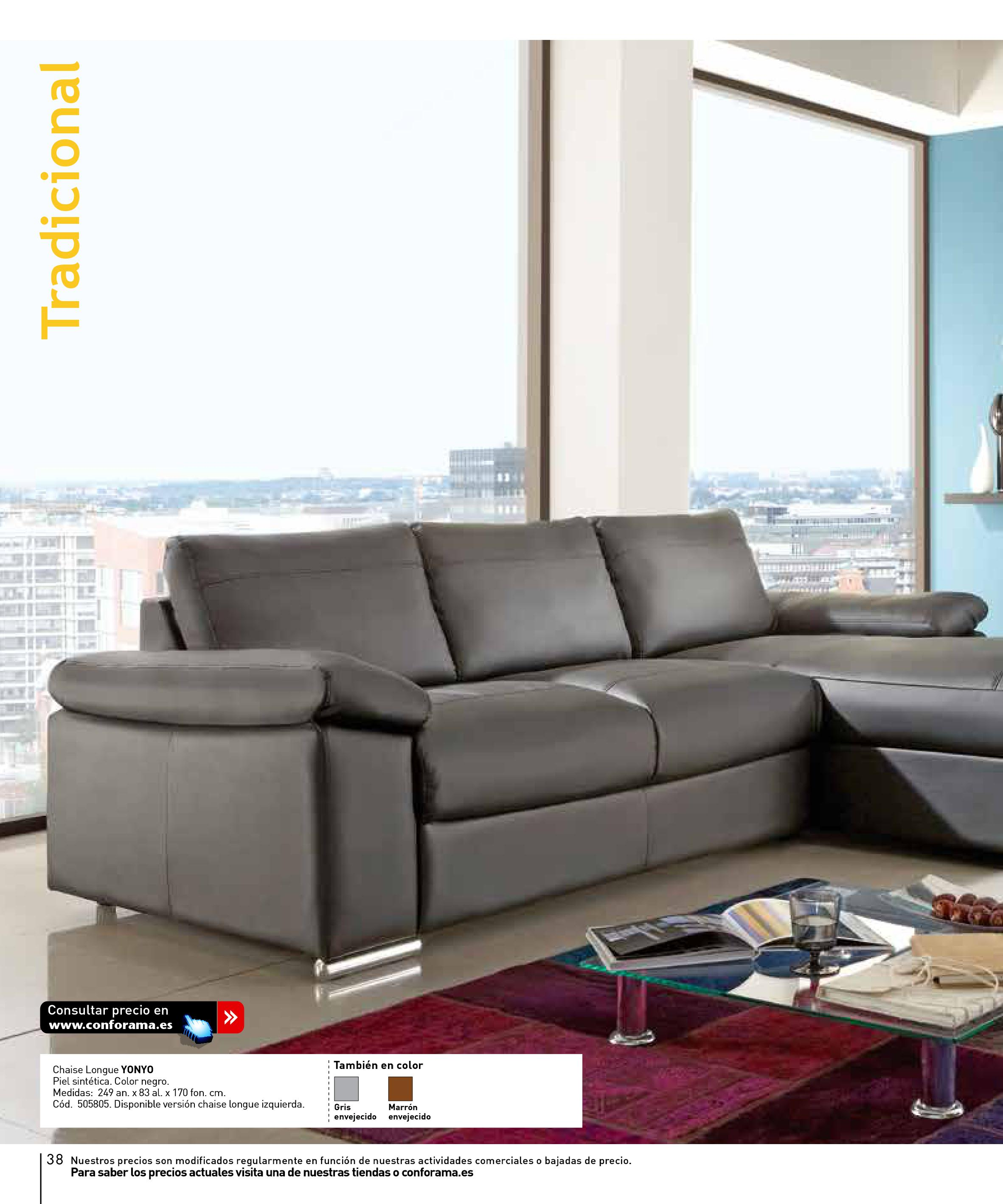 Sofas conforama 201538 for Sofas conforama catalogo