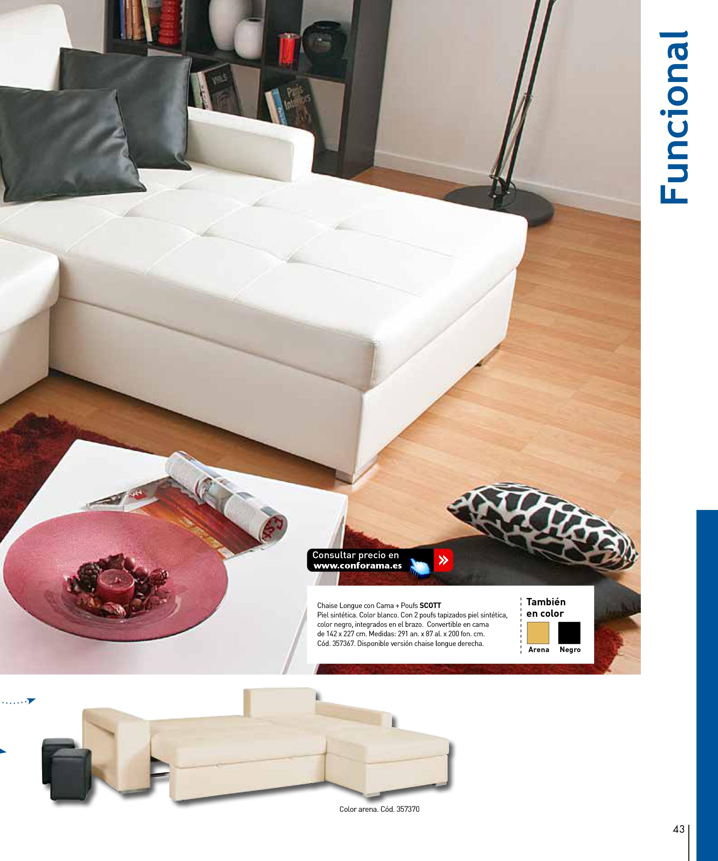 Sofas conforama 201543 for Sofas conforama catalogo
