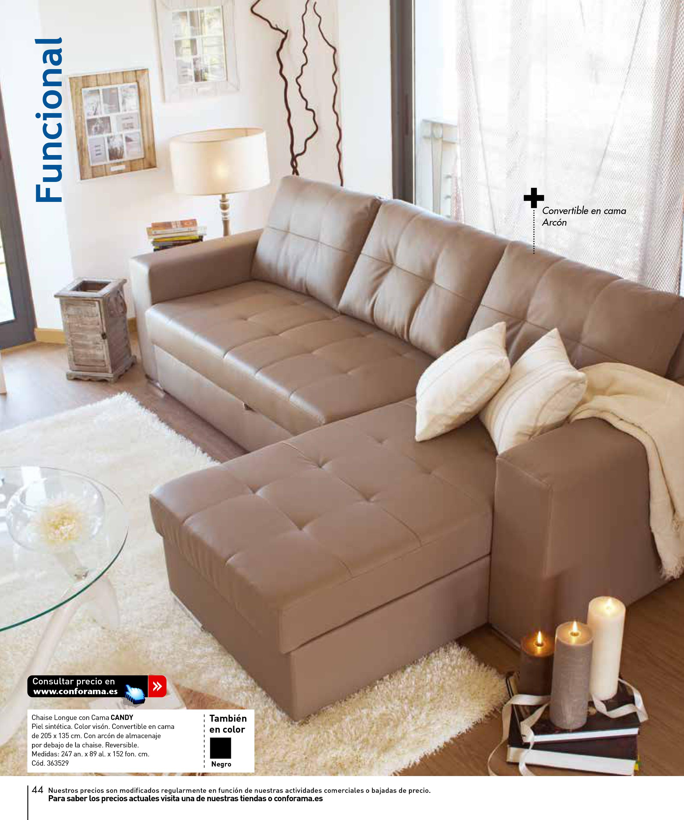 Sofas conforama 201544 for Sofas conforama catalogo