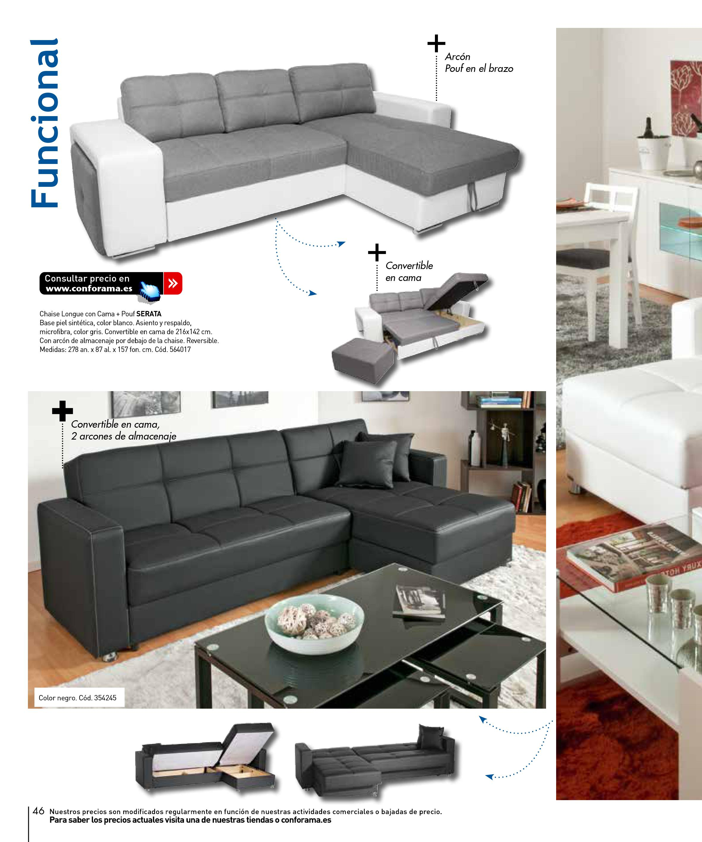 Sofas conforama 201546 for Sofas conforama catalogo