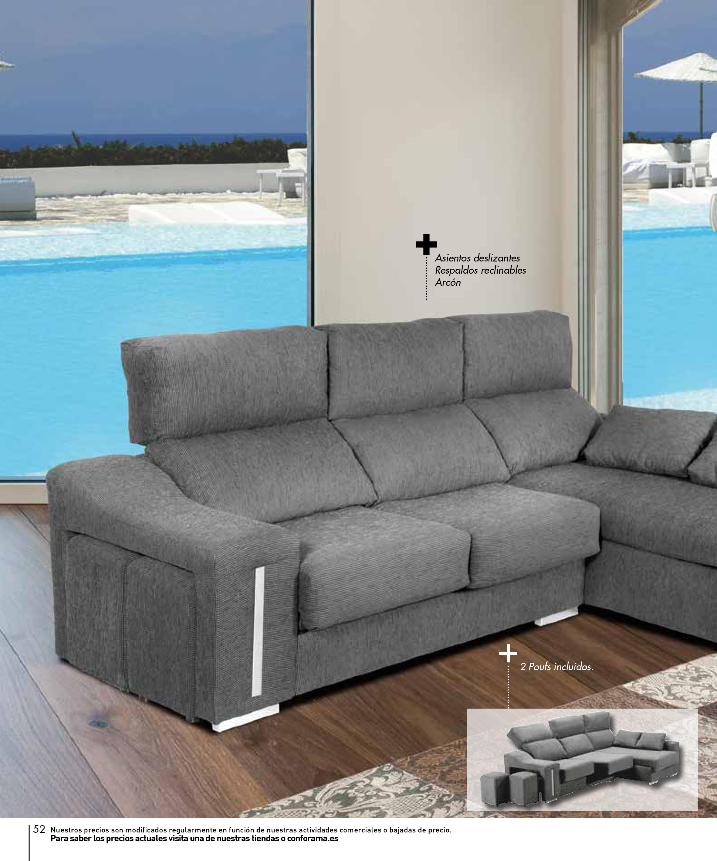 Sofas conforama 201552 for Sofas conforama catalogo