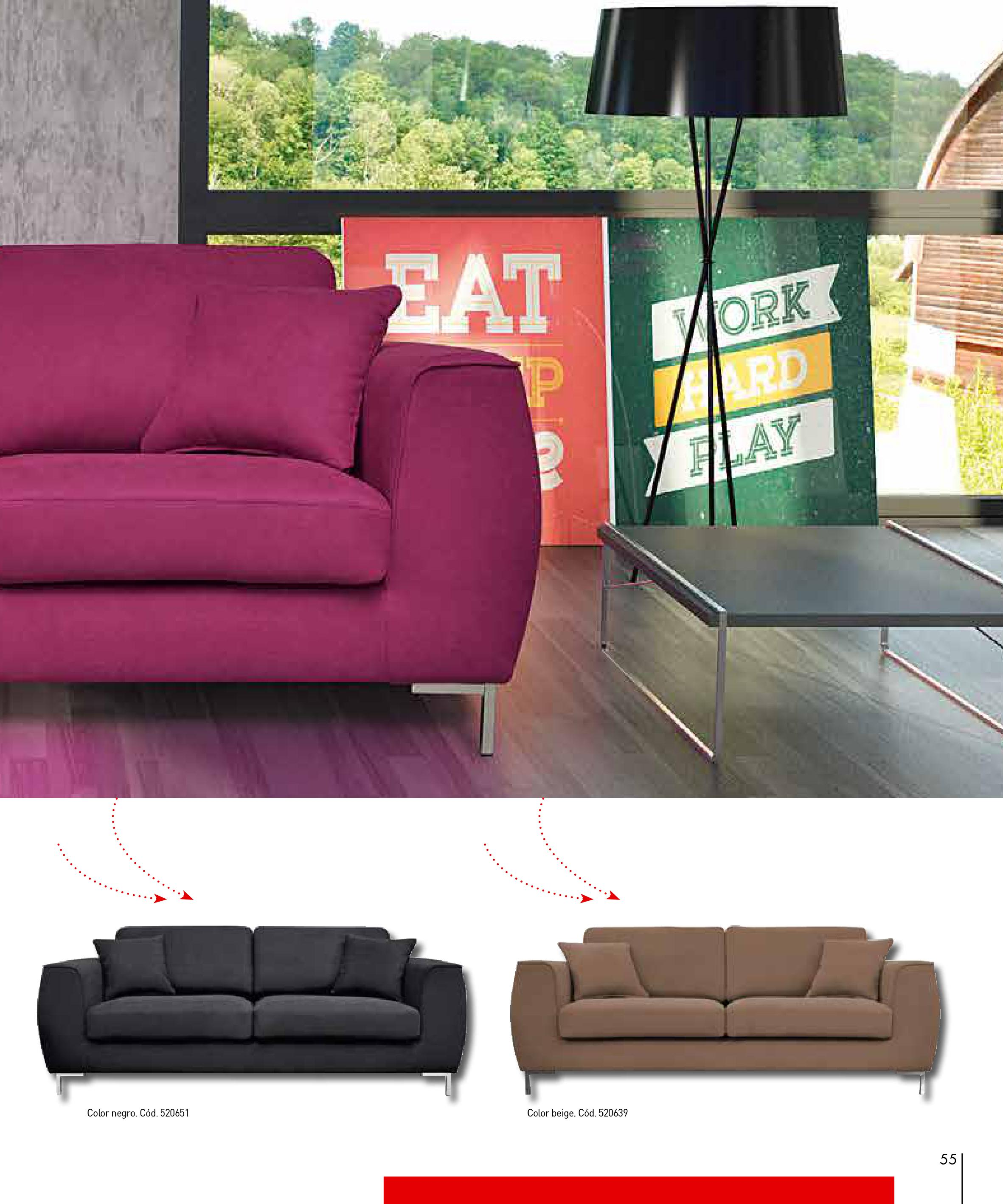 Sofas conforama 201555 for Sofas conforama catalogo