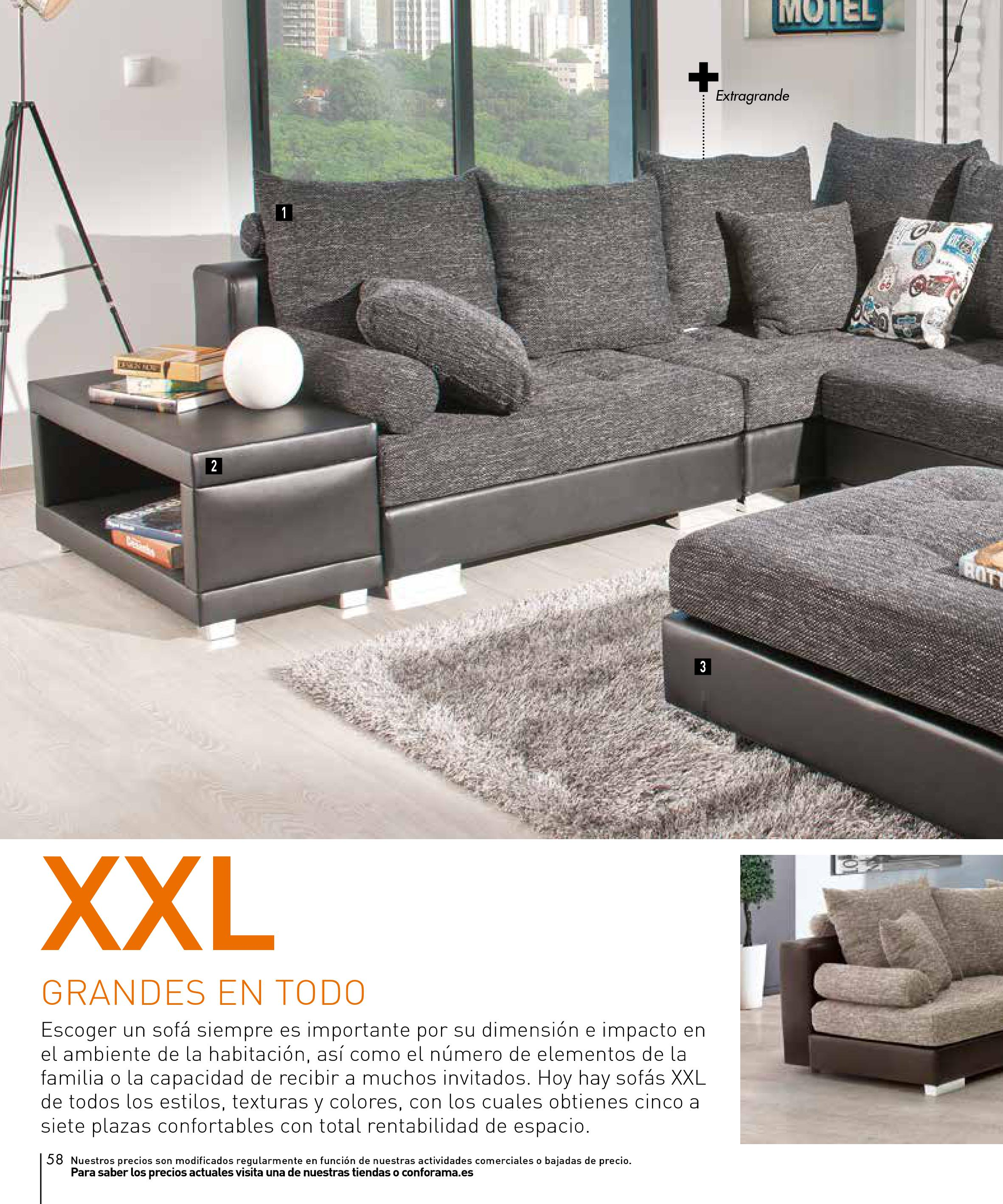 Sofas conforama 201558 for Sofas conforama catalogo