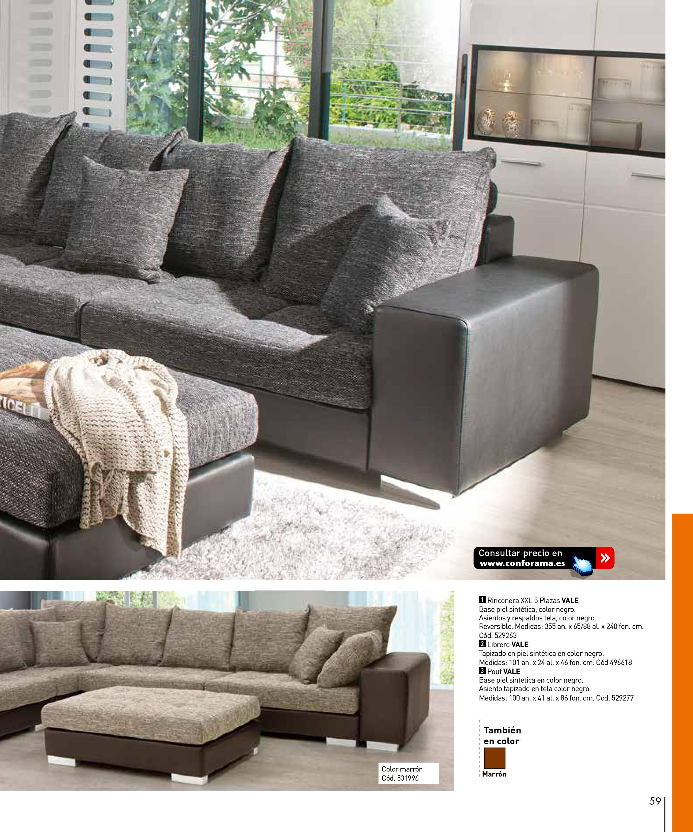 Sofas conforama 201559 for Sofas conforama catalogo