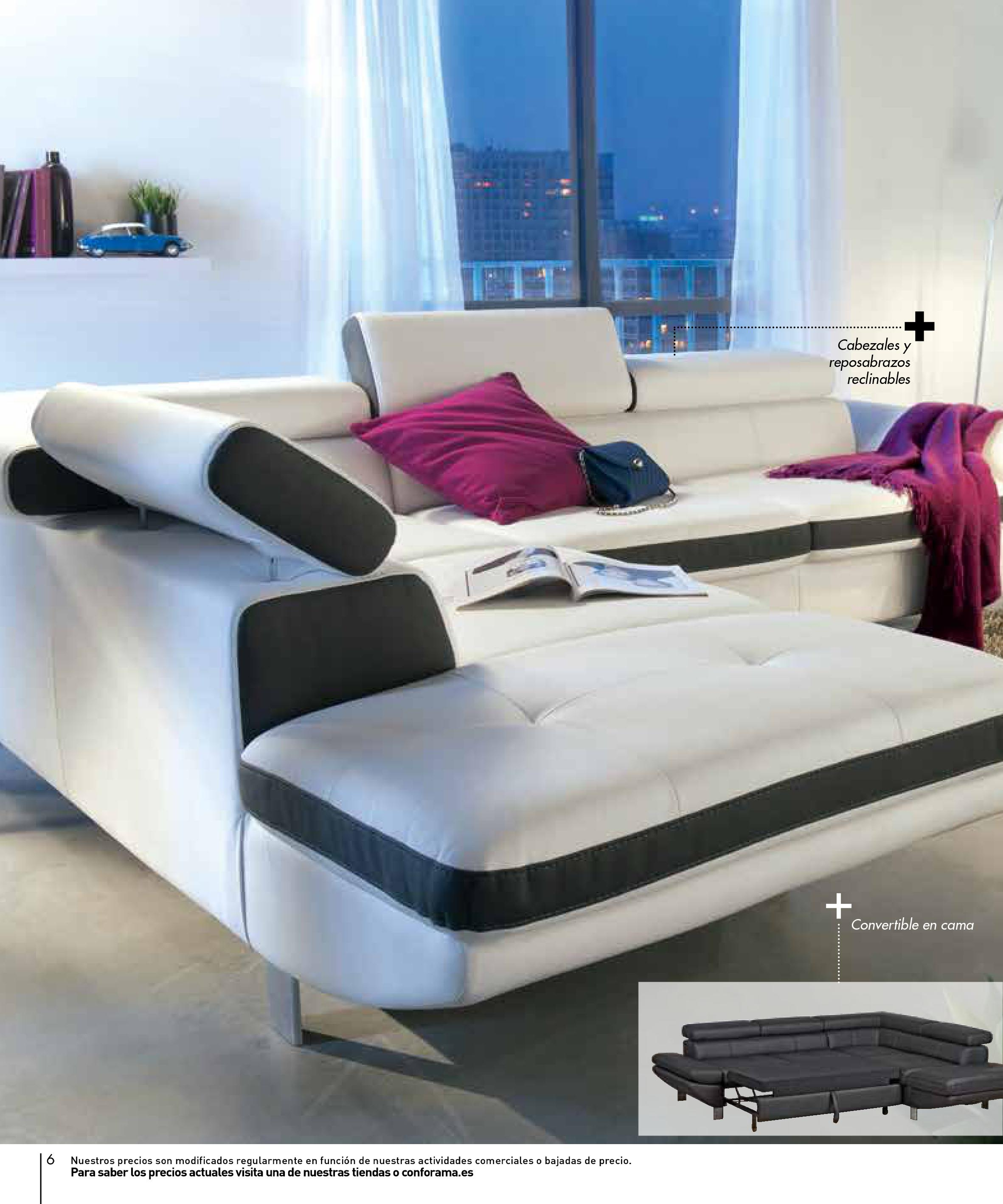 Sofas conforama 20156 for Sofas conforama catalogo