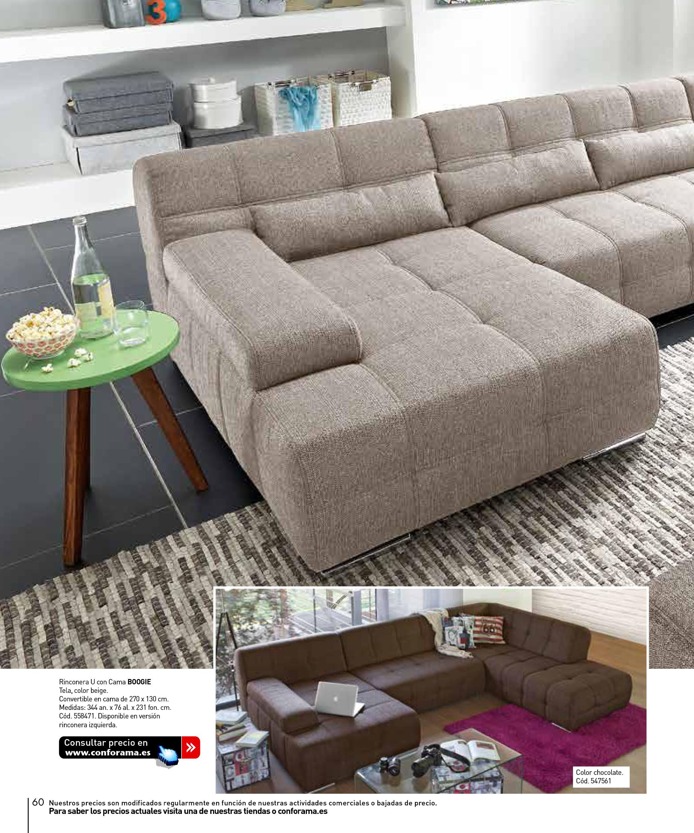 Sofas conforama 201560 for Sofas conforama catalogo