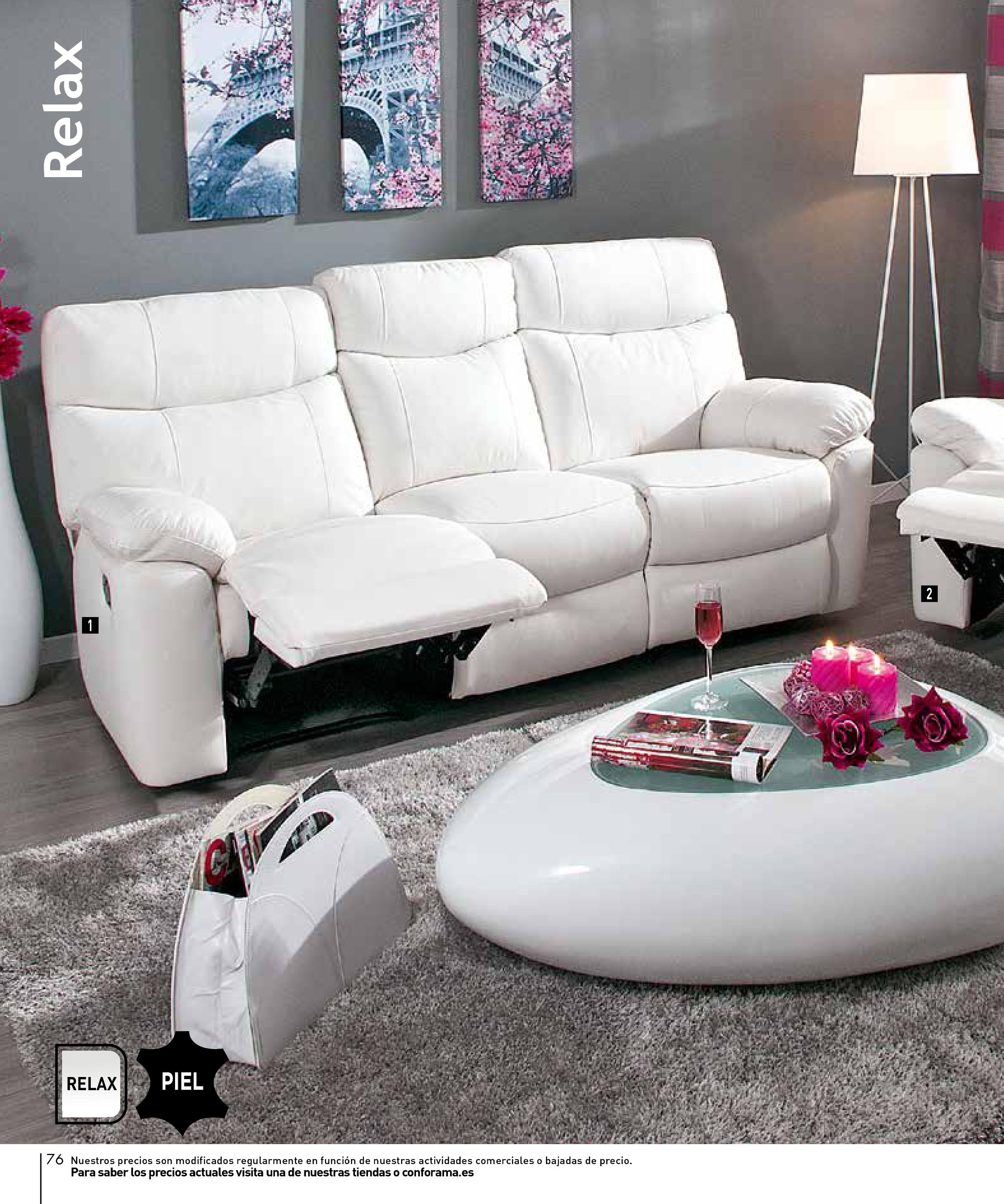 Sofas conforama 201576 for Sofas conforama catalogo