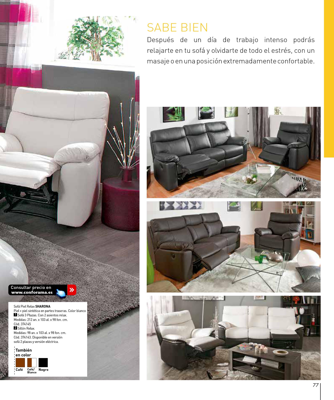 Sofas dos plazas conforama finest coleccin de sofs tienda for Cheslong dos plazas