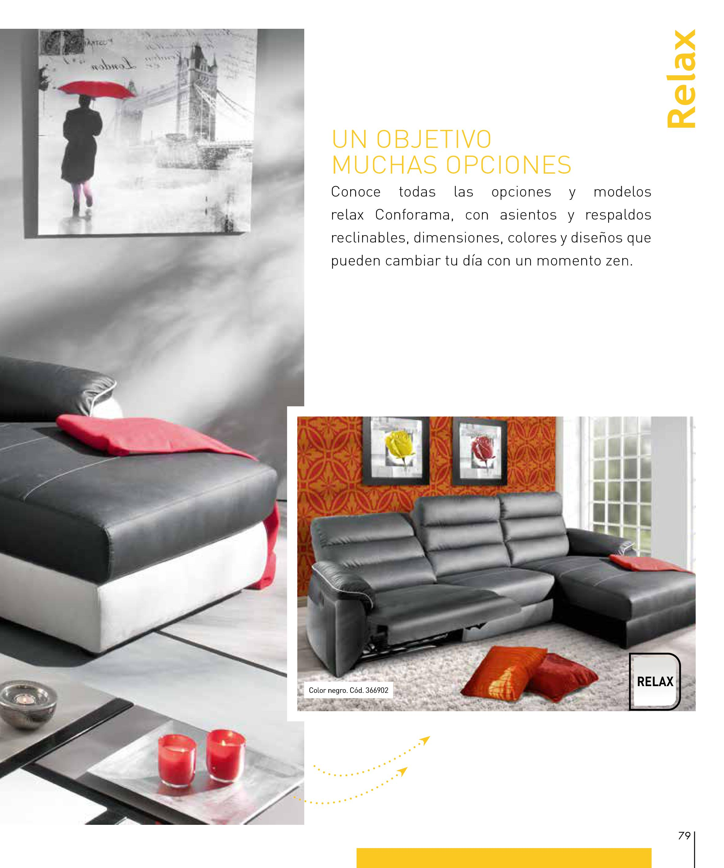 Sofas conforama 201579 for Sofas conforama catalogo