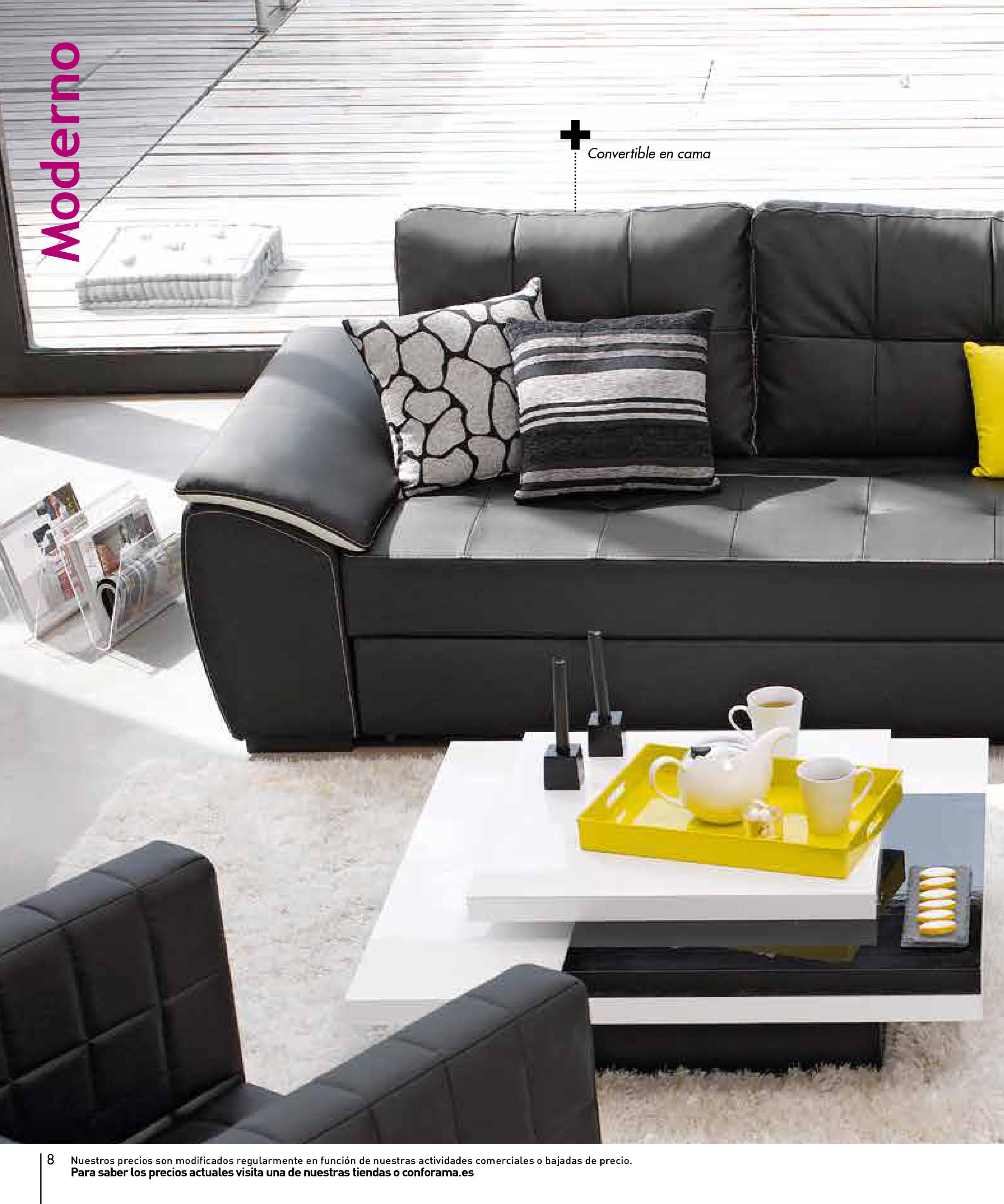 Sofas conforama 20158 for Sofas conforama catalogo