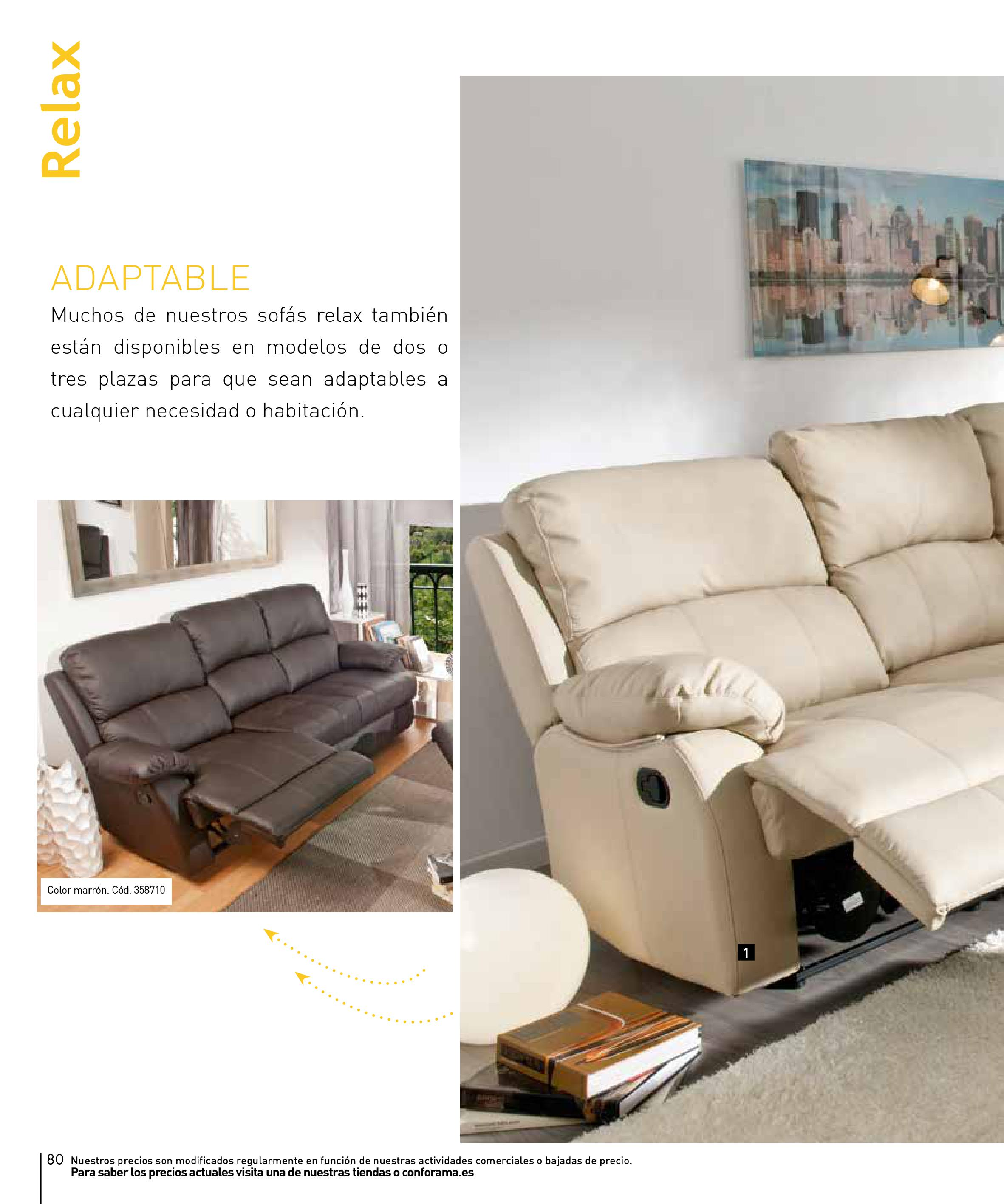Sofas conforama 201580 for Sofas conforama catalogo