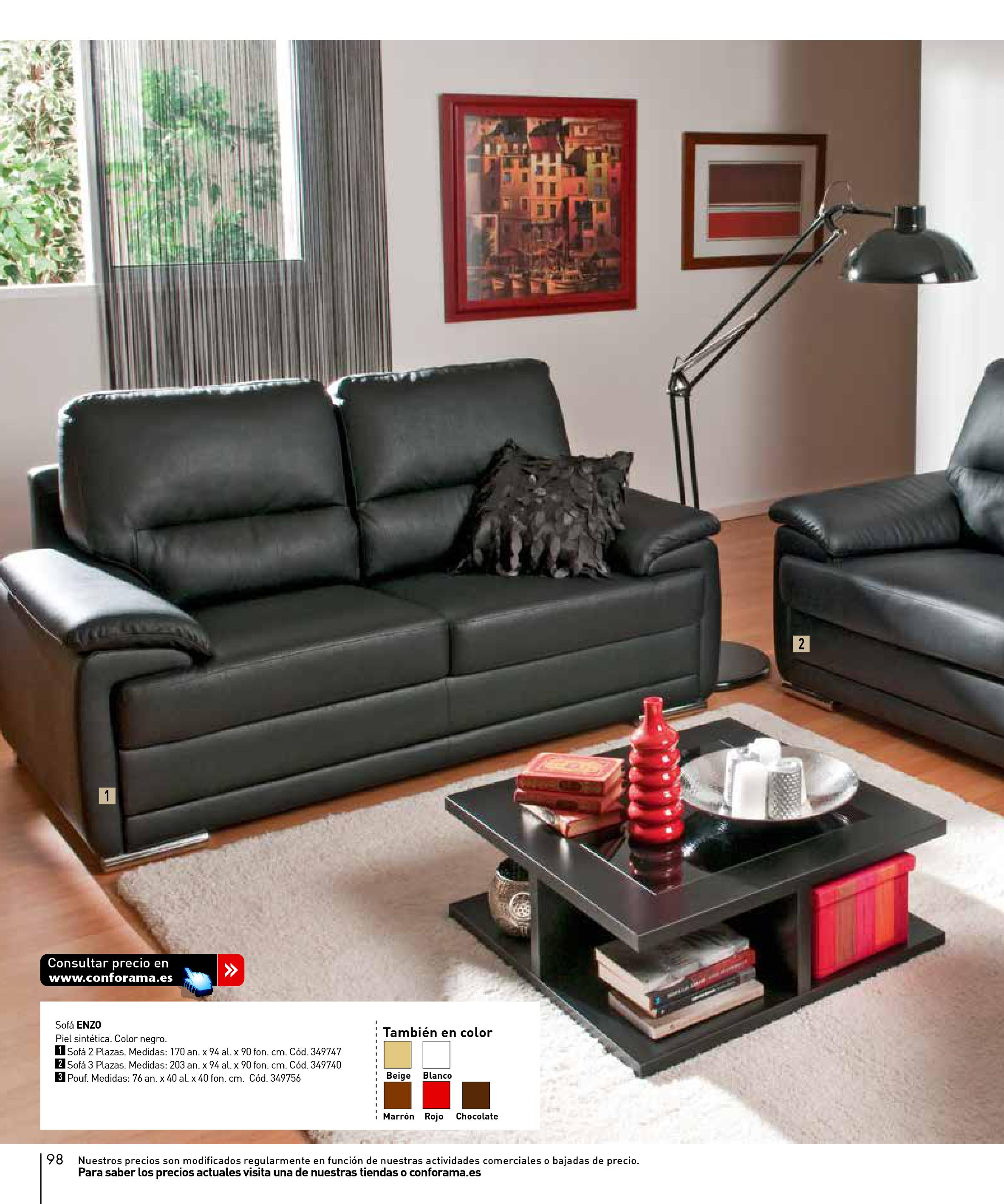Sofas conforama 201598 for Sofas conforama catalogo
