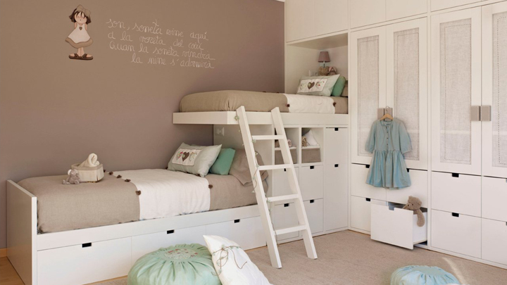 5 ideas para pintar la habitaci n infantil for Colores de moda para pintar habitaciones