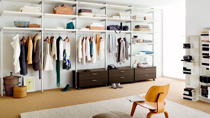 como crear y organizar un vestidor