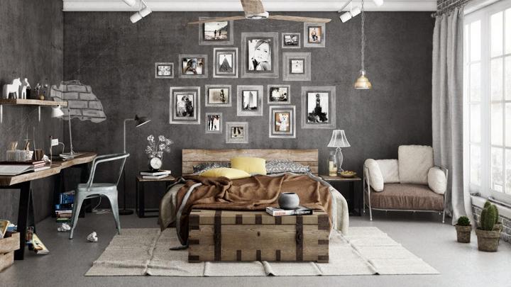 ideas para decorar con baules