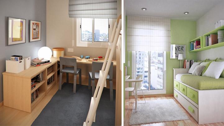 Ideas para habitaciones mini for Cuarto para las 6