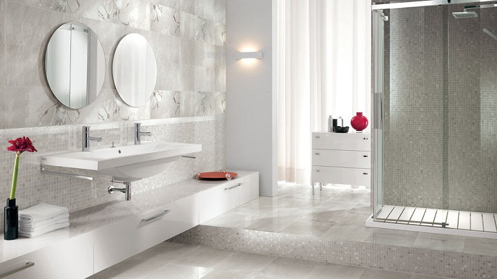 Tipos de cuarto de ba o para dos personas for Pica lavabo roca