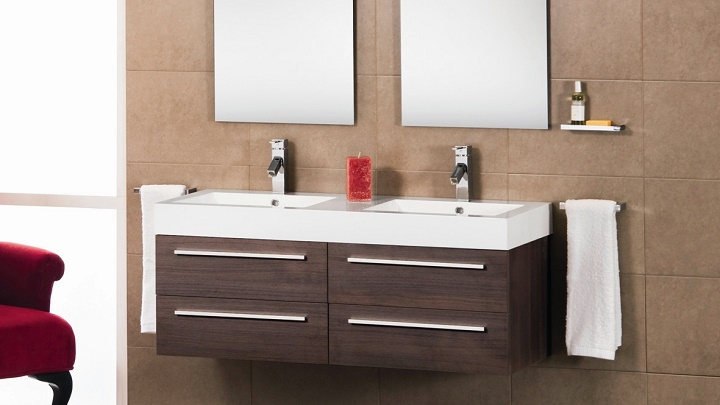 Tipos de cuarto de baño para dos personas