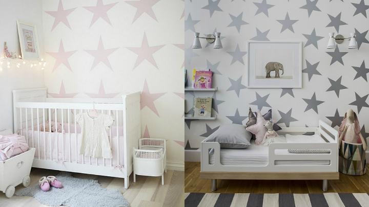 Papel pintado para la habitaci n de los ni os for Papel para habitacion