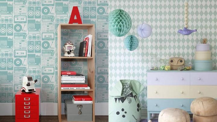 Papel pintado para la habitaci n de los ni os - Papel pintado para dormitorio juvenil ...