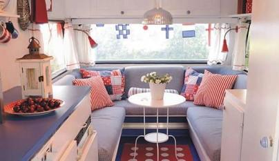 La mejor decoraci n para una caravana - Interiores de caravanas ...