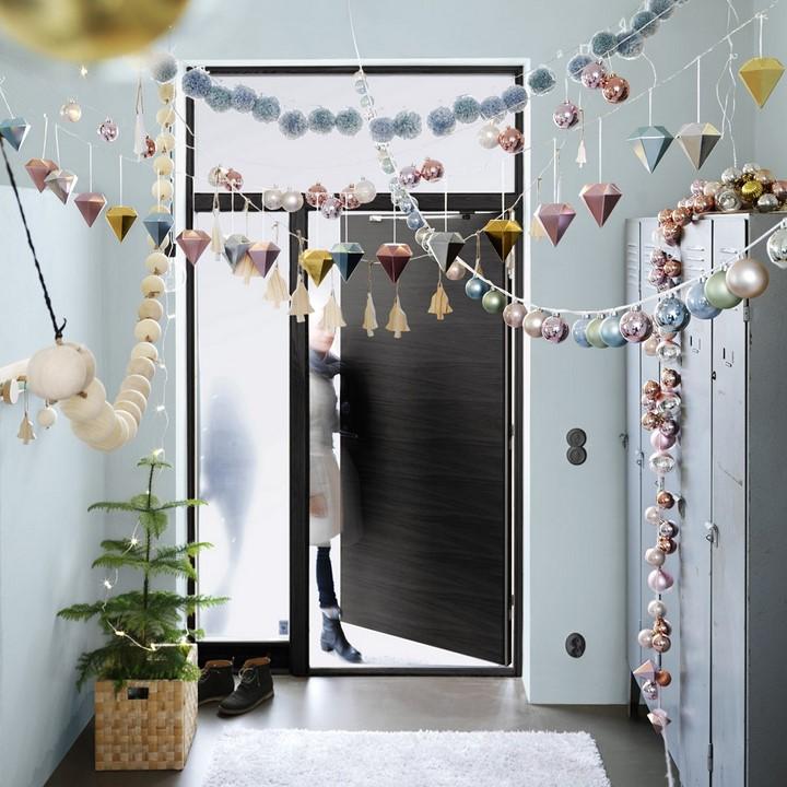 IKEA adorno colgante diamante abeto