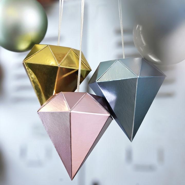 IKEA adorno diamantes detalle