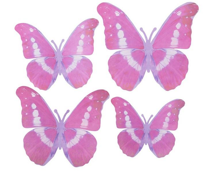 IKEA adorno mariposas rosas