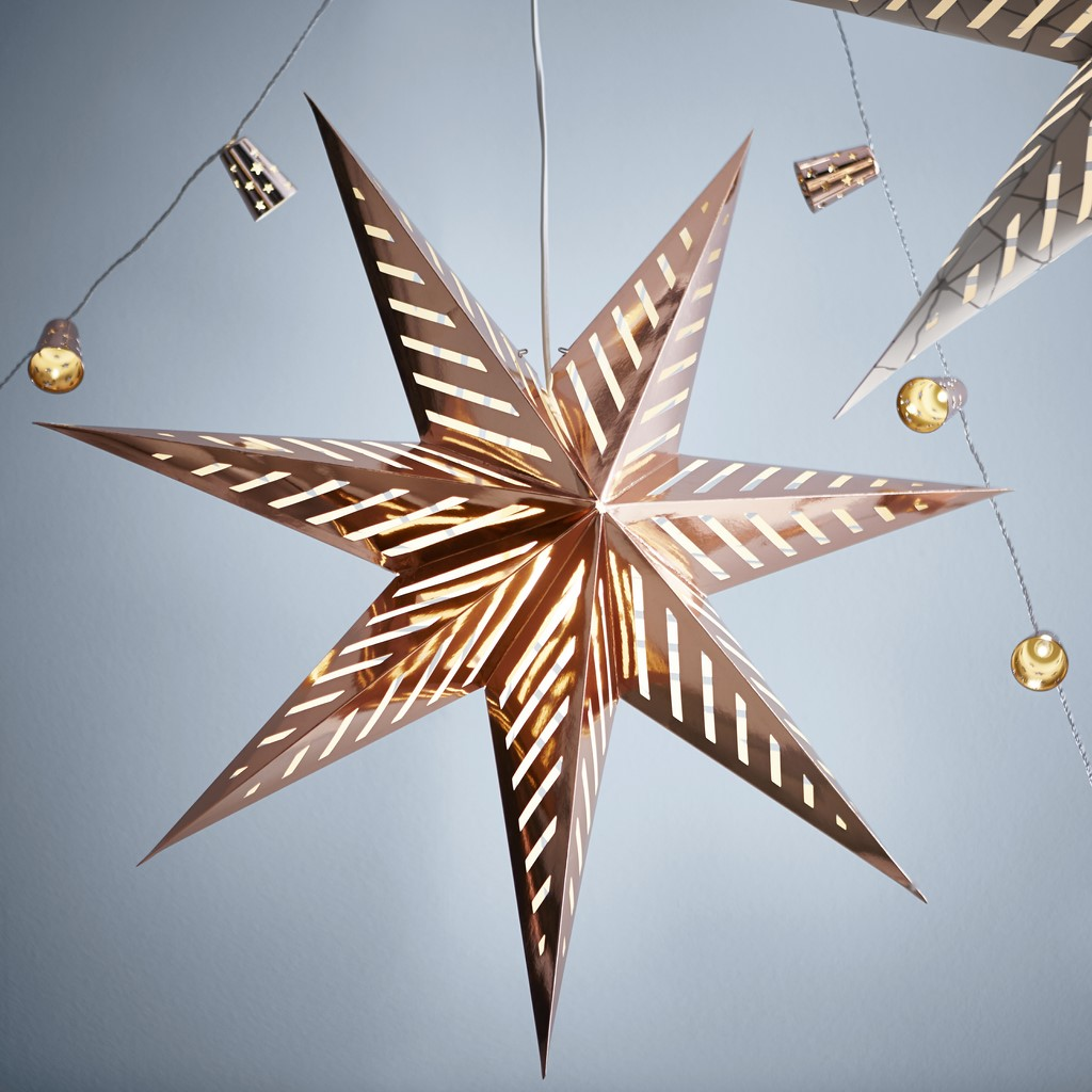 IKEA lampara estrella detalle