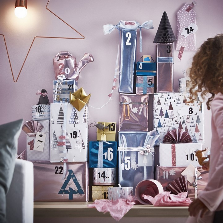 IKEA rollo papel regalo