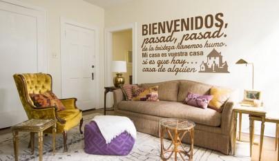 Tenvinilo_vinilo decorativo_bienvenidos