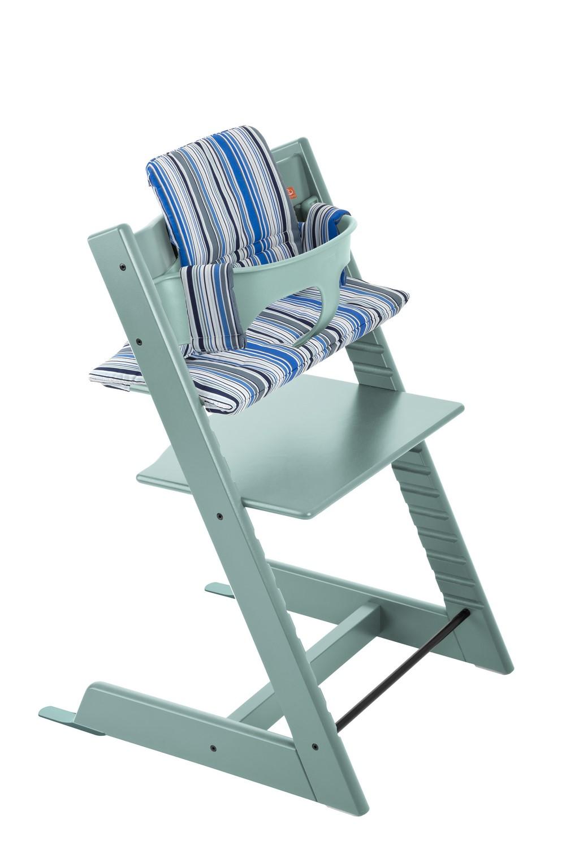 tripp trapp 2679 aqua blue ocean stripe bs. Black Bedroom Furniture Sets. Home Design Ideas