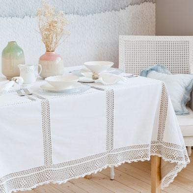 Colecci n victorian vintage de zara home oto o invierno for Zara home manteles mesa