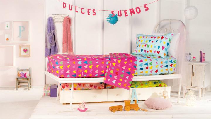 arte ropa de cama