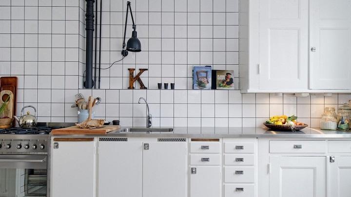 Vale la pena poner azulejos en las paredes de la cocina - Paredes cocina sin azulejos ...